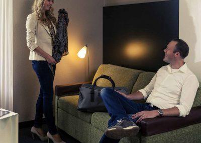 Mercure Hotel Zwolle Privilege Kamer met Personen